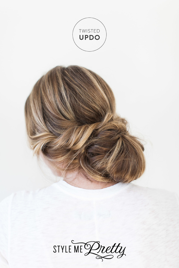 DIY: The Twisted Updo from Style Me Pretty