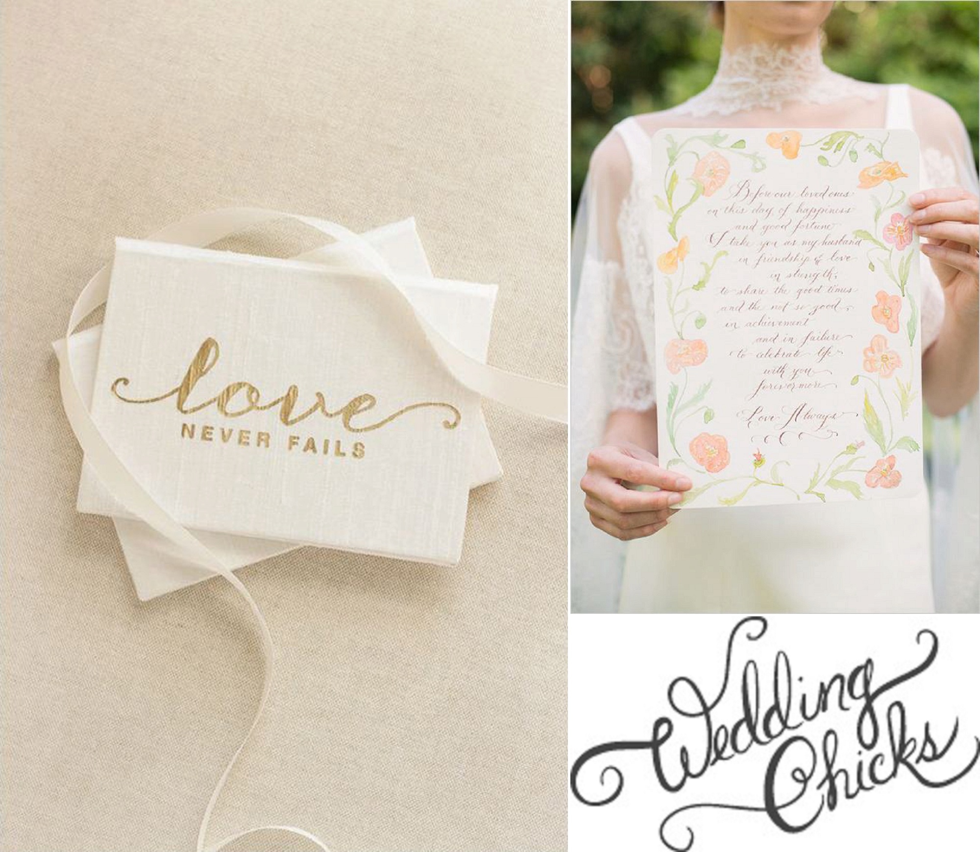 10 Tips for Writing Your Vows from Wedding Chicks