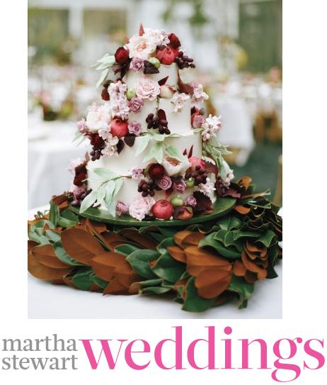 31 Fall Wedding Cakes from Martha Stewart Weddings