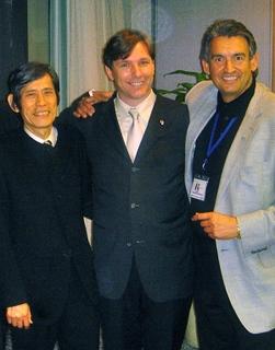 Isamu Masuda with Igor Gruendl and Wolfgang Sonnenburg