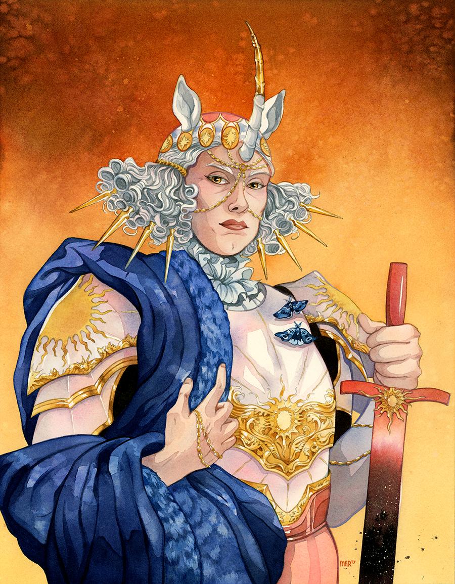 """Unicorn Queen of the Sun"""