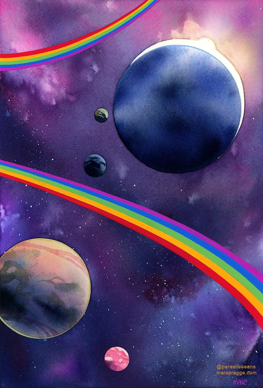 """""""Space is Gay II"""""""