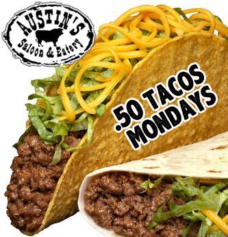 .50 Taco Mondays