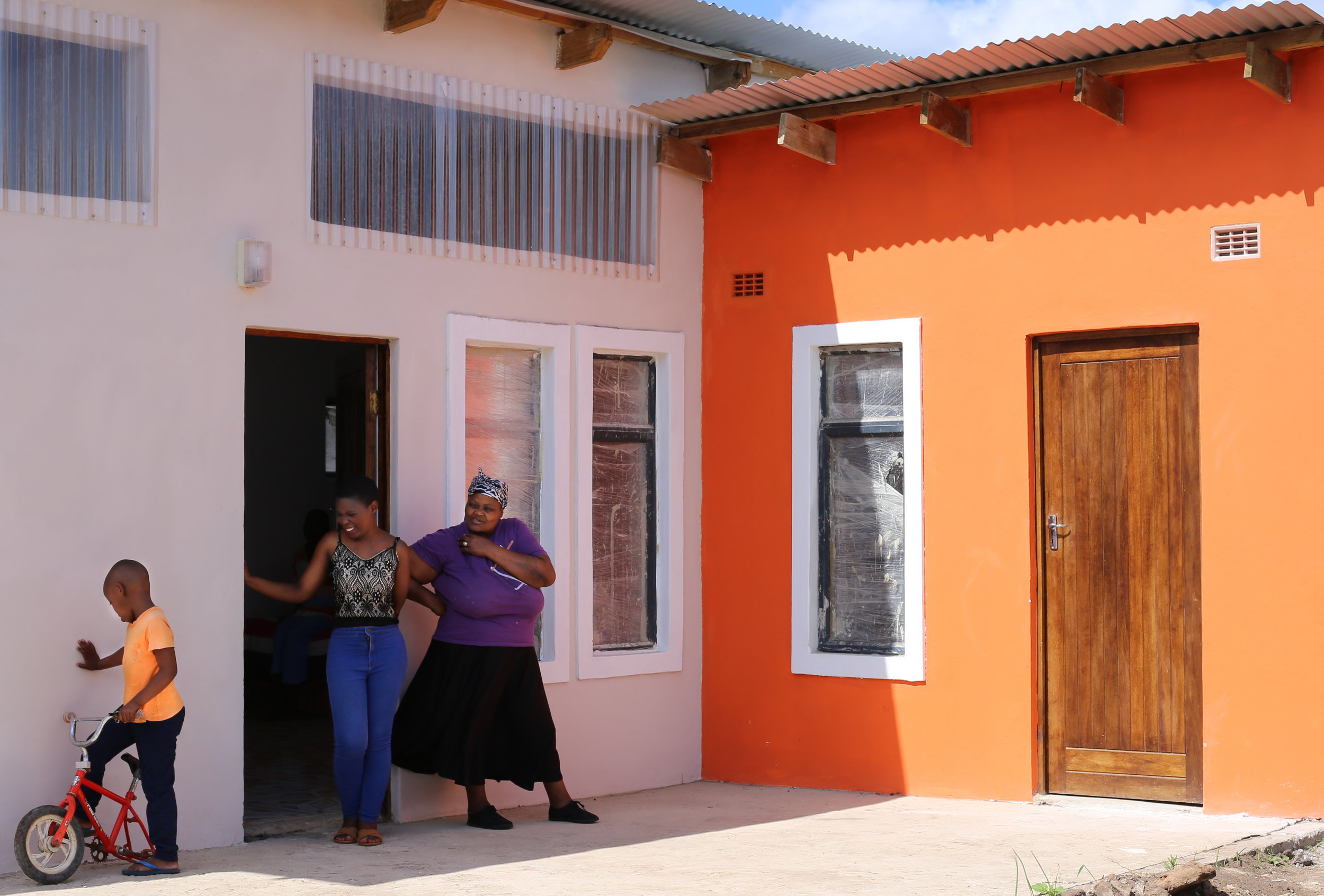 New shop-house for a disabled family, Umbumbulu, South Africa