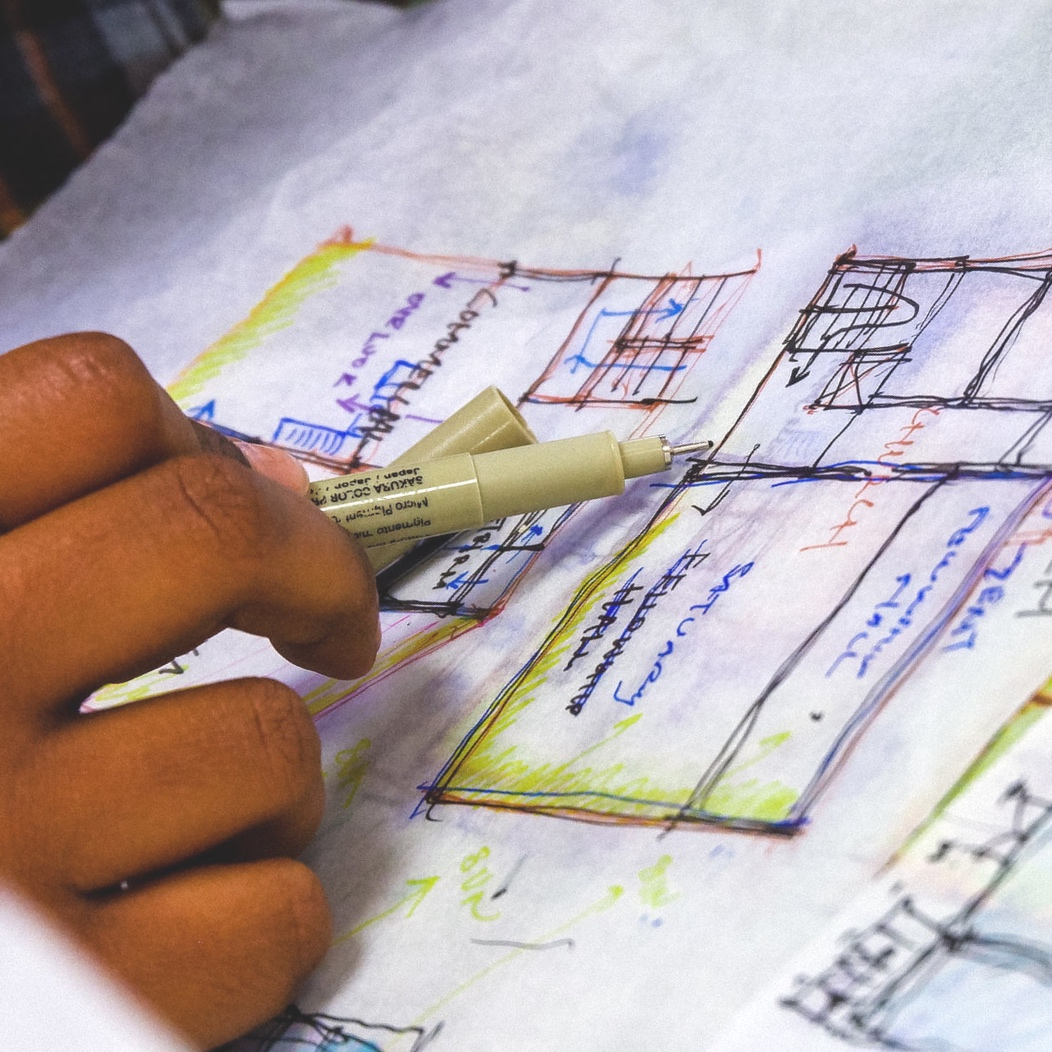 DRAW BY HAND - Analog is the new digital in this age of digital fatigue. We see hand drawing as a way of thinking through real problems. Employers and leading designers agree.