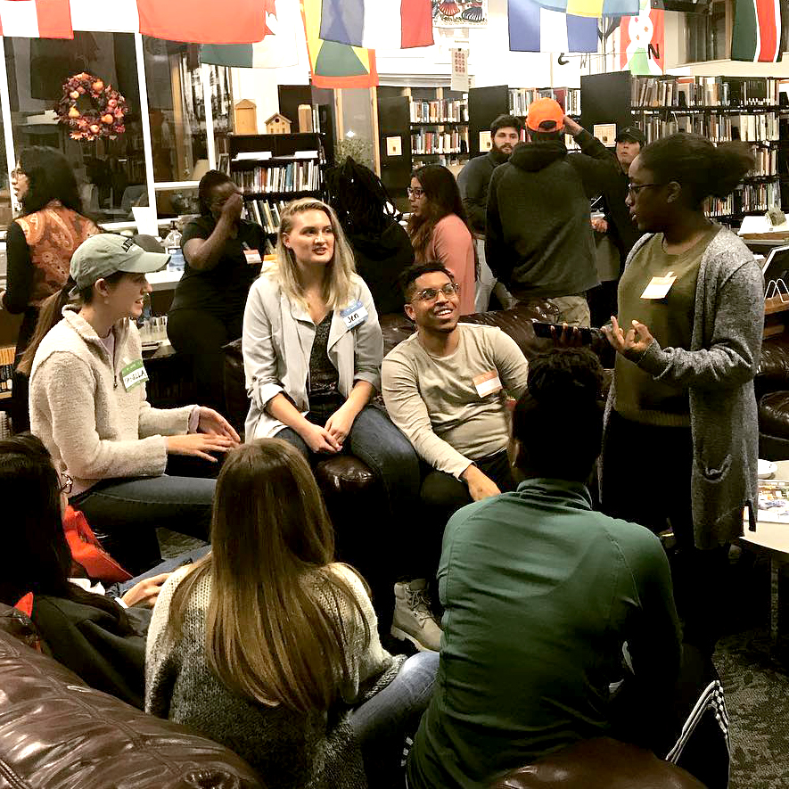 student life - Be involved in student life at our school. We worship together in The ARC, and our student club initiates community service and mentorship programs.