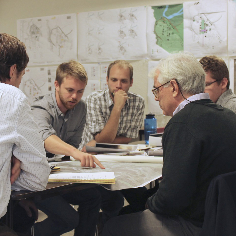 WORK WITH PROFESSIONALs - Collaborate with leading professionals and alumni on real projects in school. Our students have worked with Scott Merrill, Stephen Mouzon, Bob Gibbs, and others.