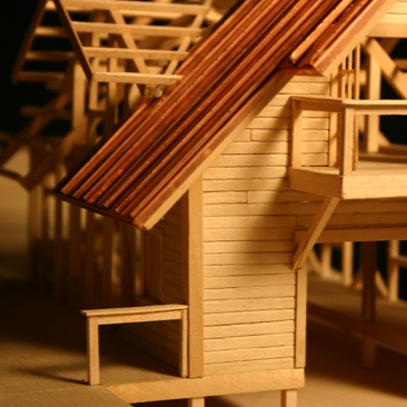 physical Modeling - Architects and interior designers must think in three dimensions. We celebrate the tactile, physical model to convey tangible form, space, and structure.