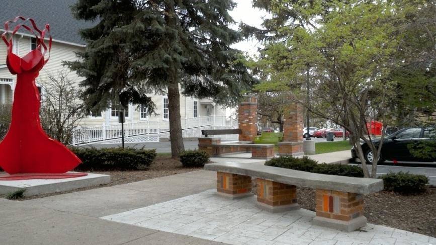 Sitting Space at Krasl Art Center