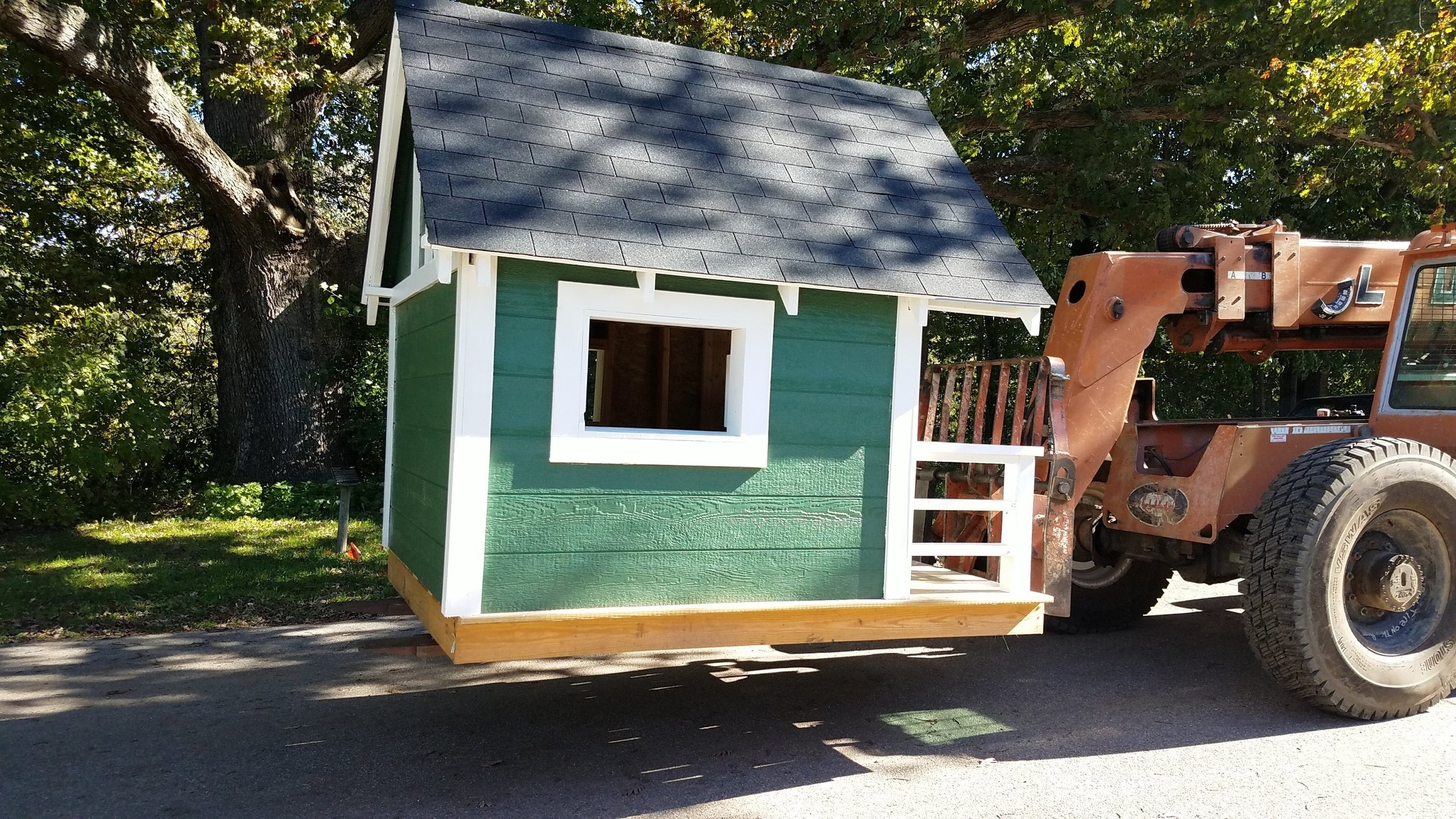 Built by the kids in 2019 to help raise money for building a tiny house for a stranger in need.