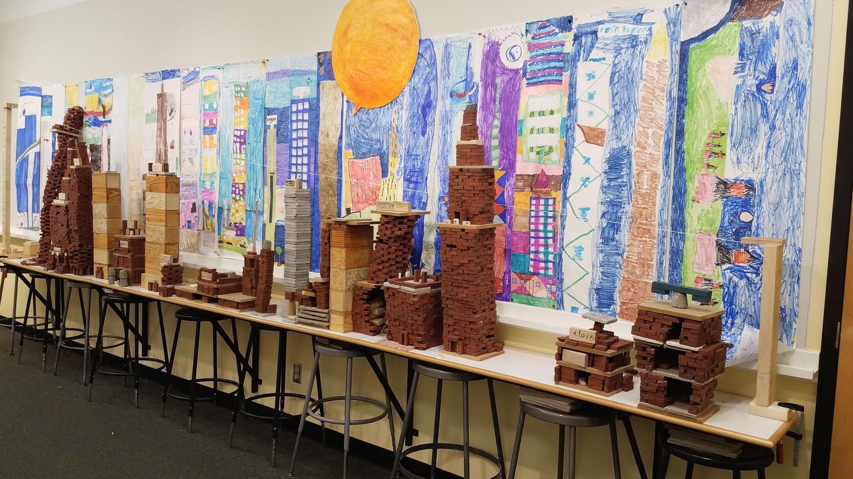 Imaginary City Skyline, multimedia.
