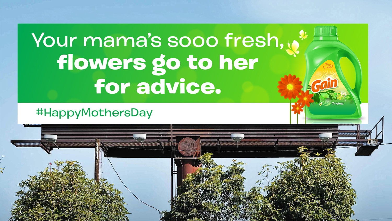 Gain Mother's Day OOH