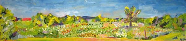 2007 12x48 Oil on Canvas