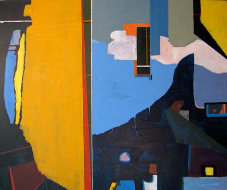 2008 60x46 Acrylic on Canvas