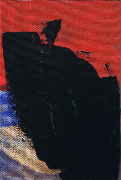 2009 3x5 Acrylic on Canvas