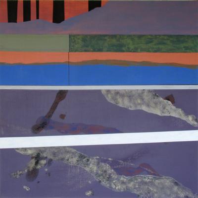 2009 48x48 Acrylic on Canvas