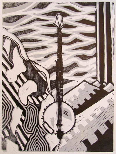 2006 11x15 Linocut