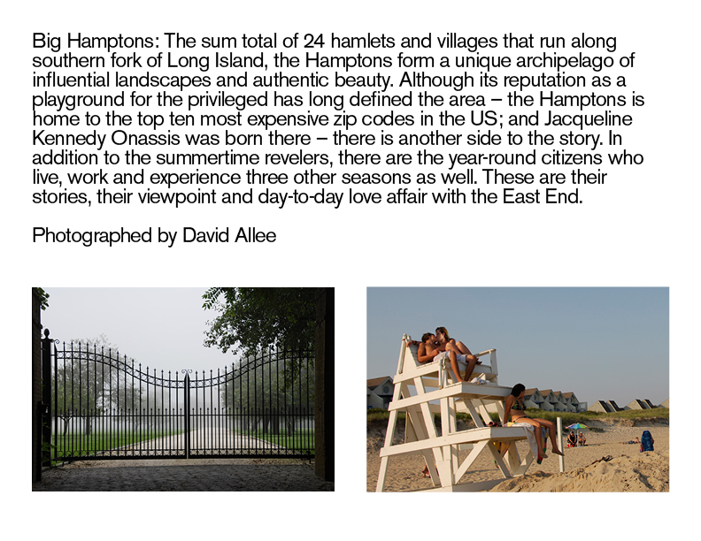 BIG HAMPTONS - Photographed by David Allee