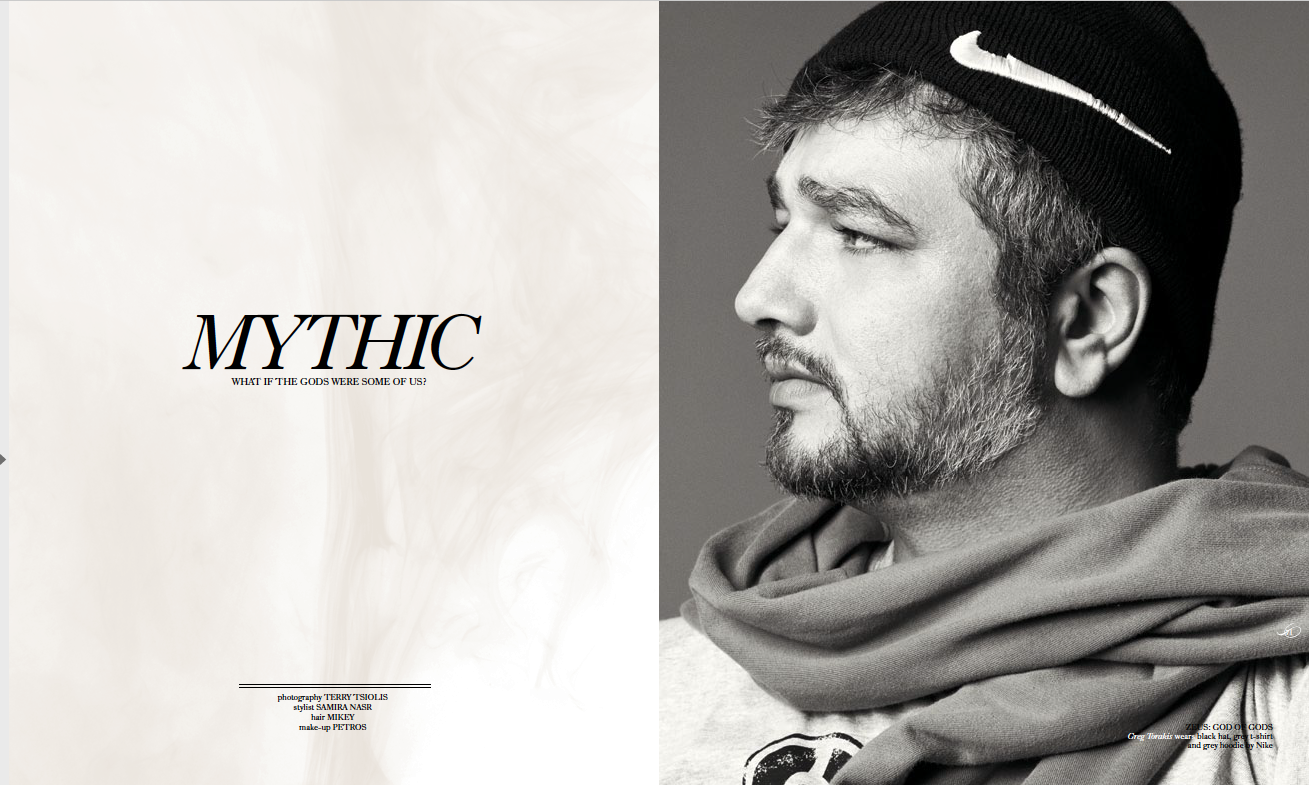 NIKE AIR ISSUE - WHAT IF GODS WERE SOME OF US? Photographed by Terry Tsiolis