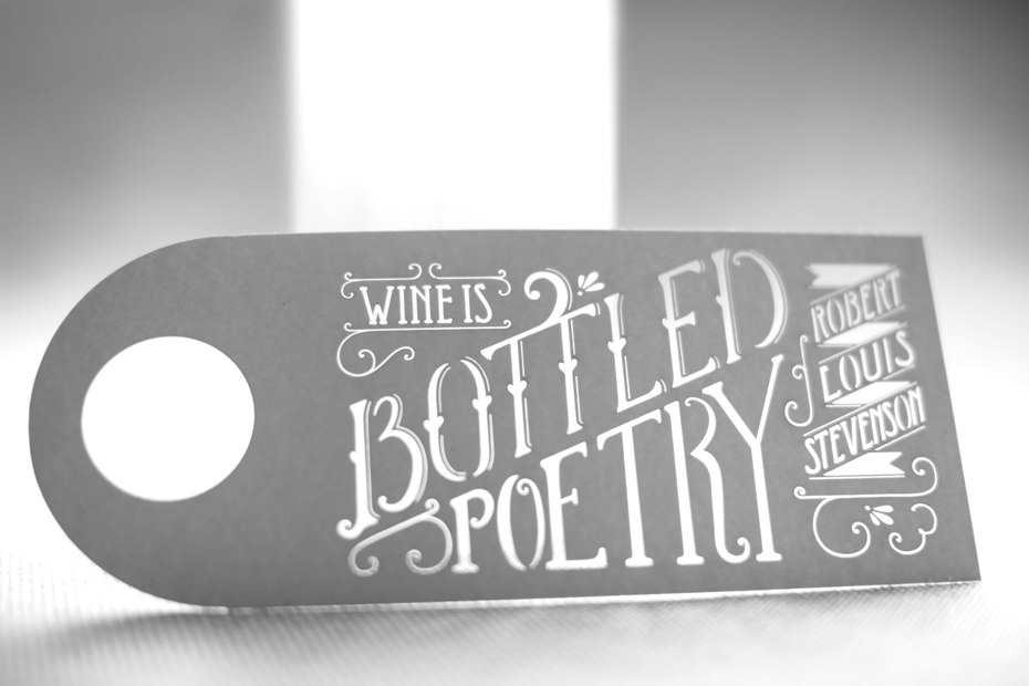 BOTTLED POETRY