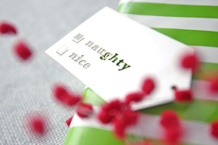 NAUGHTY / NICE Gift Tag