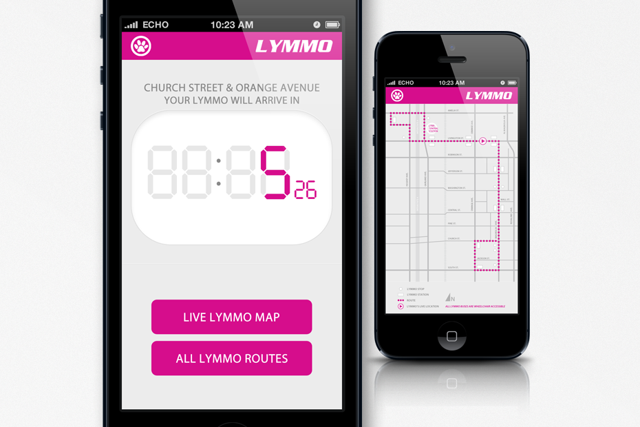 LYMMO BUS TRACKER