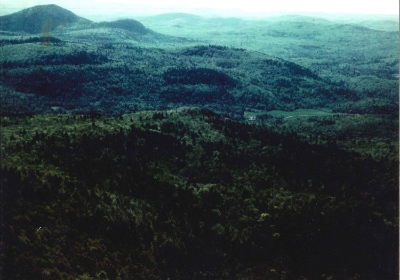 The valley in the Adirondacks where Micah grew up.