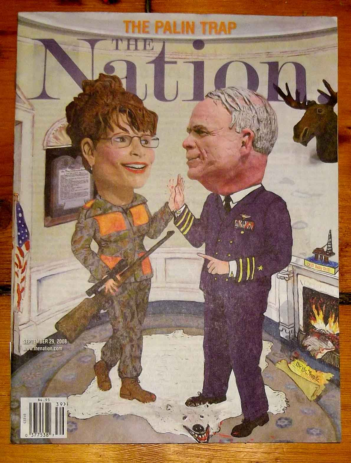 """""""The Palin Trap"""" The Nation"""