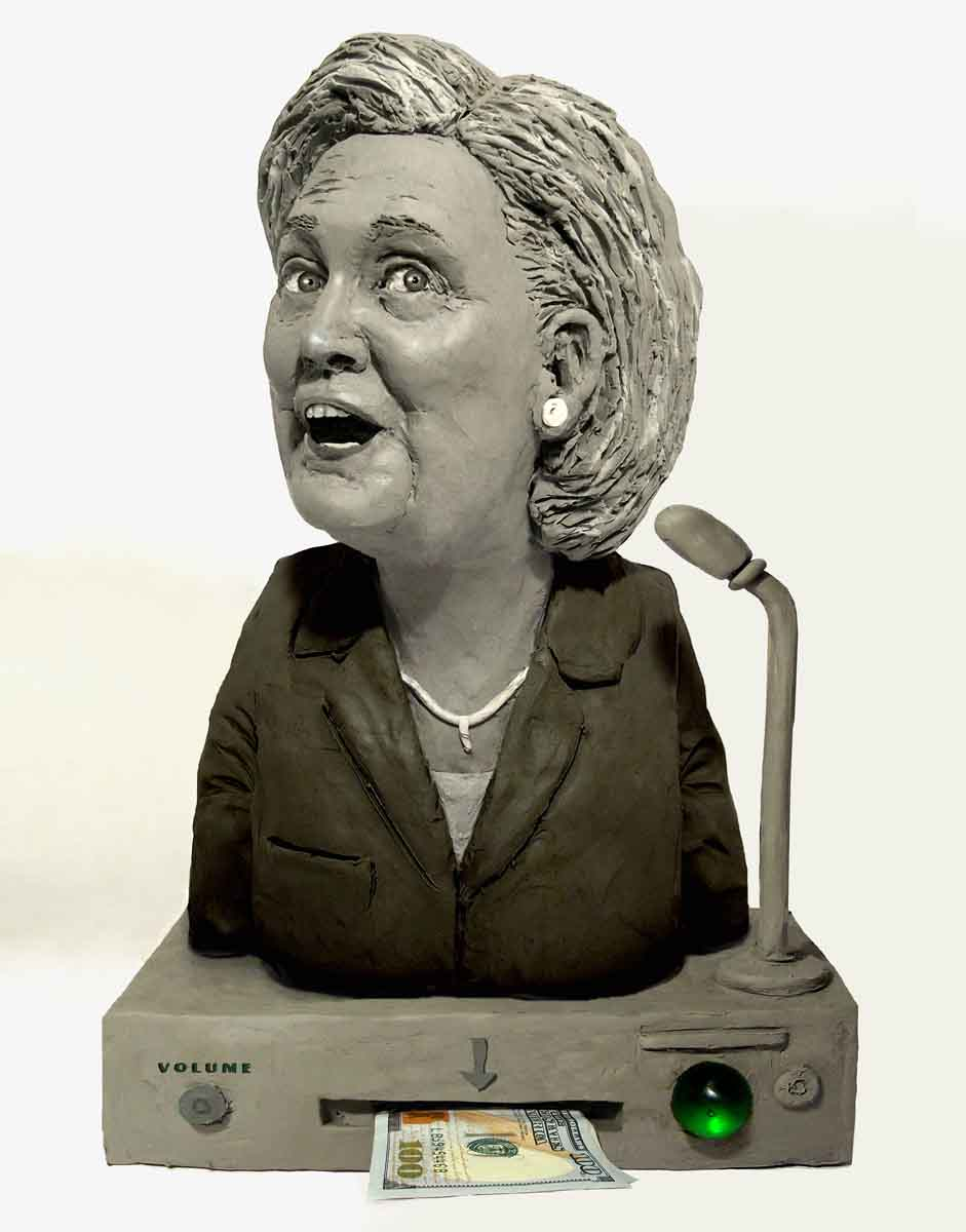 Hillary Clinton also for Bloomberg Pursuits