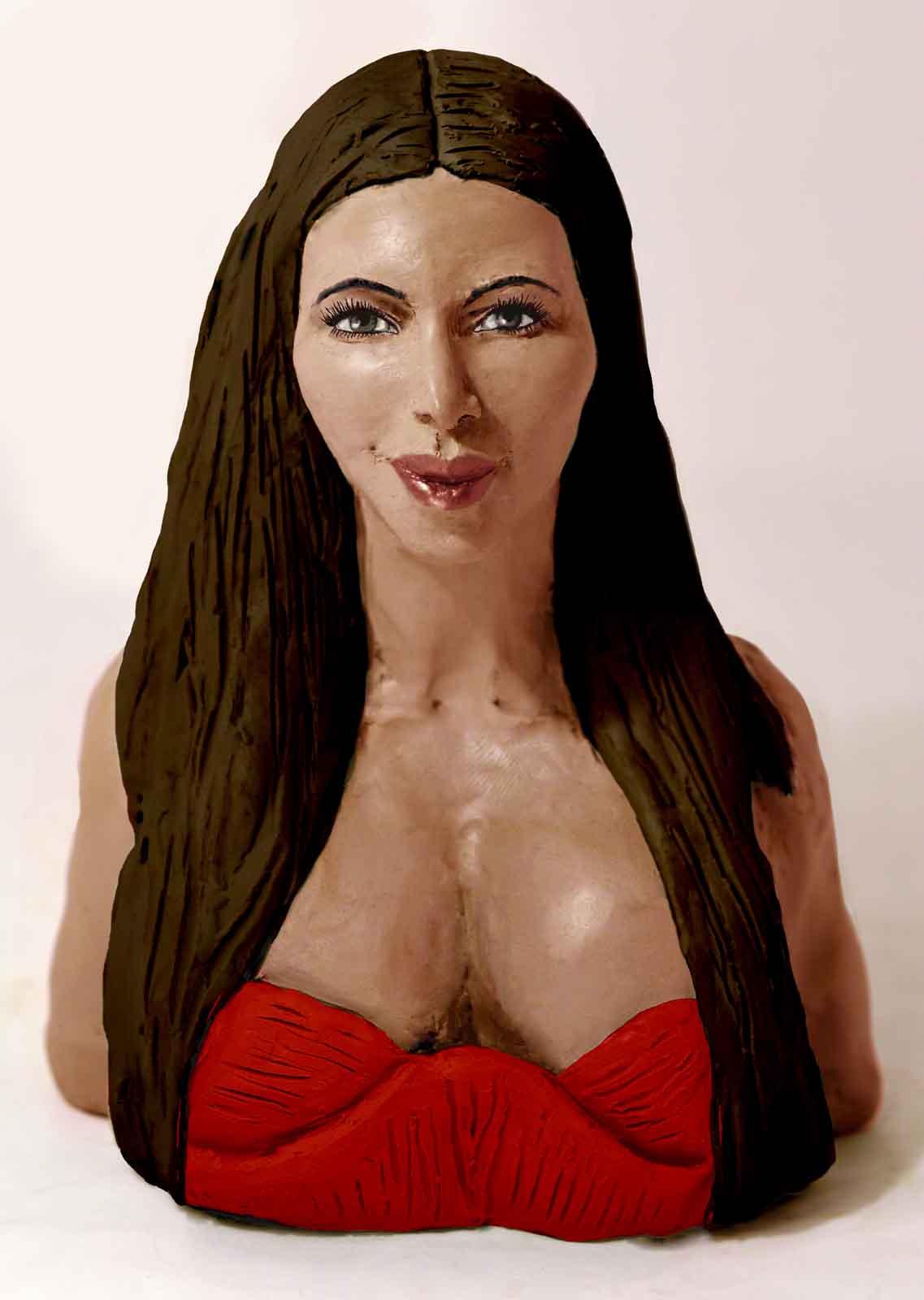Kim Kardashian for Departures Magazine