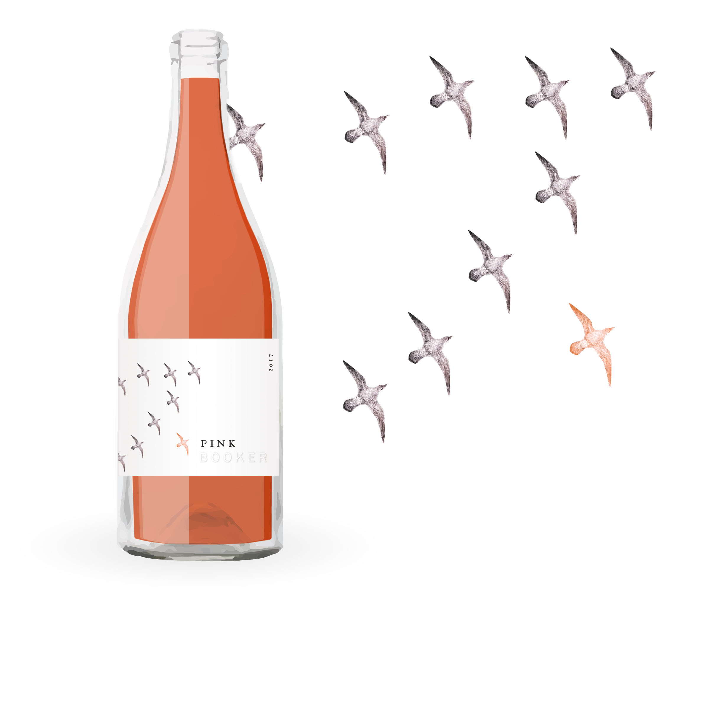 /  CONCEPT 3  / Outlier  Let's be real. Booker is a serious winery.  …But can Pink be the ugly duckling? Dinner guests migrating home for Thanksgiving say yes.