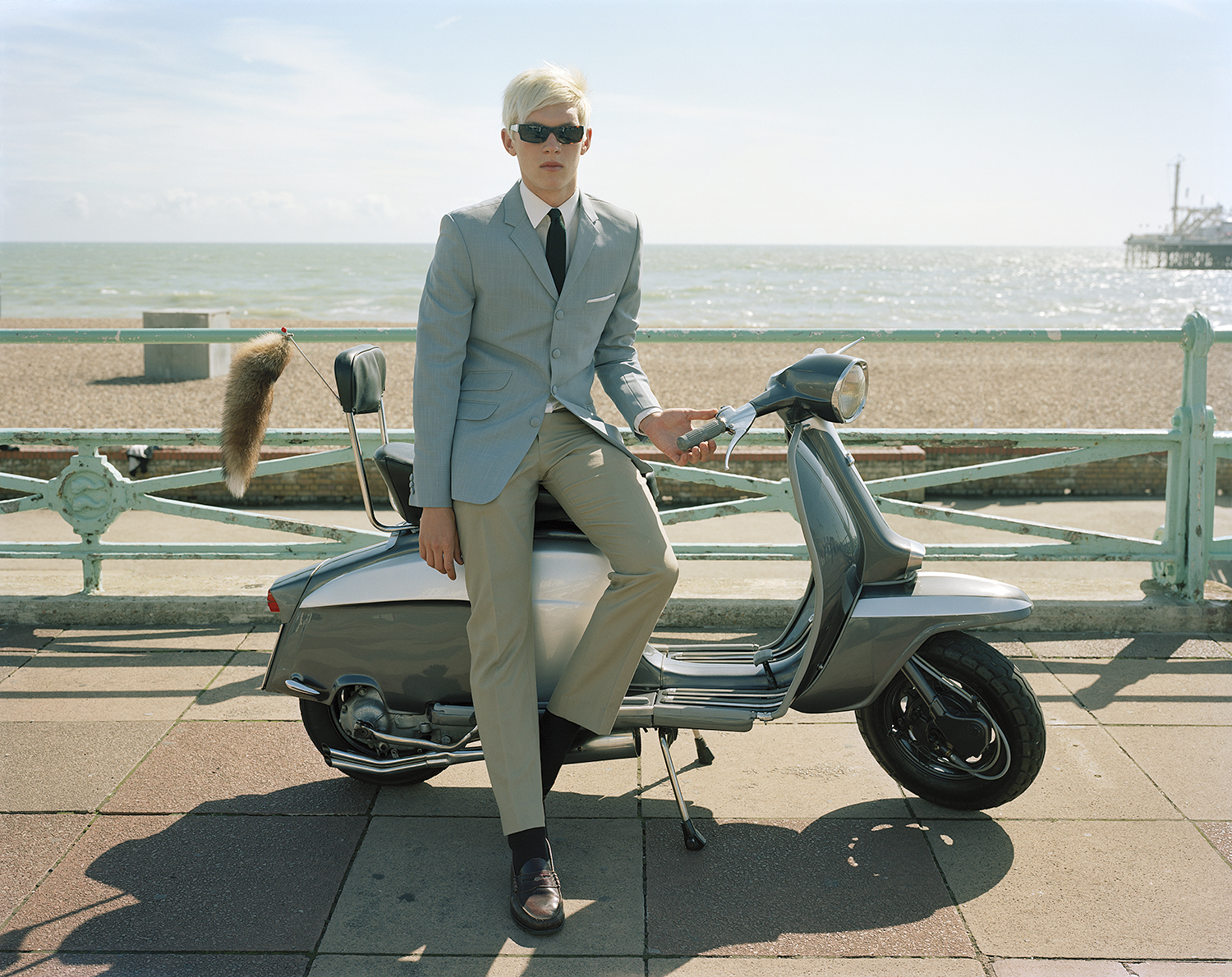 In homage to the Mods and to the film, 'Quadrophenia'.