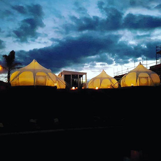 Whitianga tonight 👌 #lovewhitianga #glamping #coastalproperty