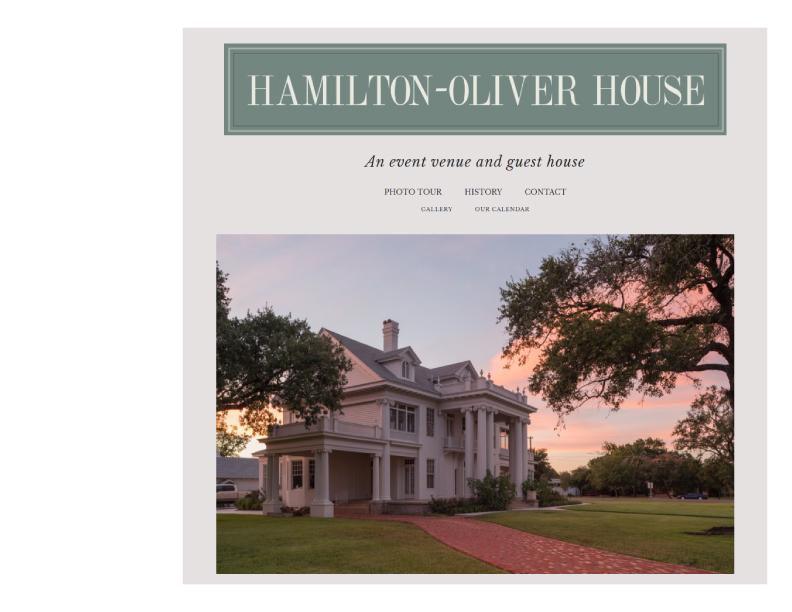 Hamilton-Oliver House -