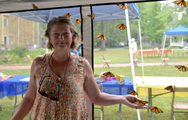 Lori Stralow Harris brings Monarchs to Chautauqua Institution