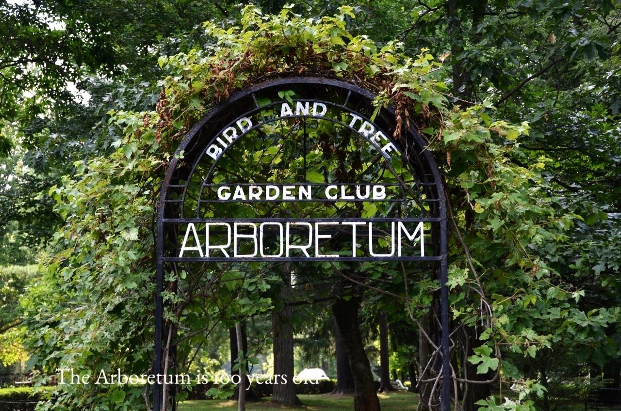 The Arboretum was dedicated 100 years ago.