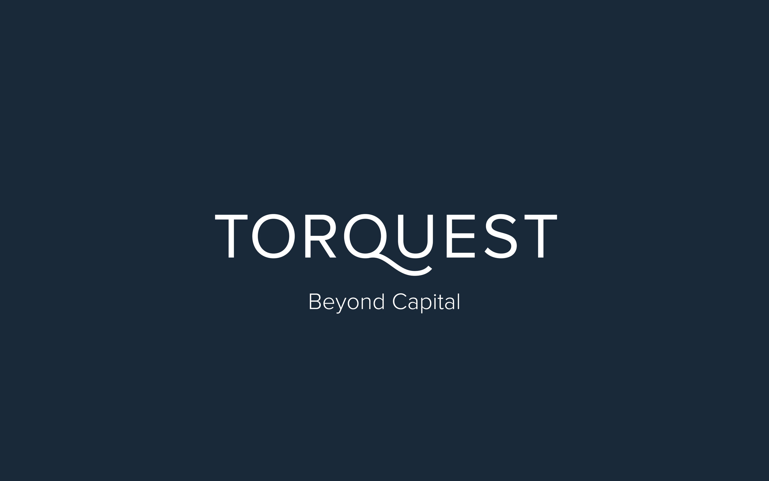 New branding for TorQuest. The logo is a customized version of Proxima Nova with the addition of a modified Q descender.