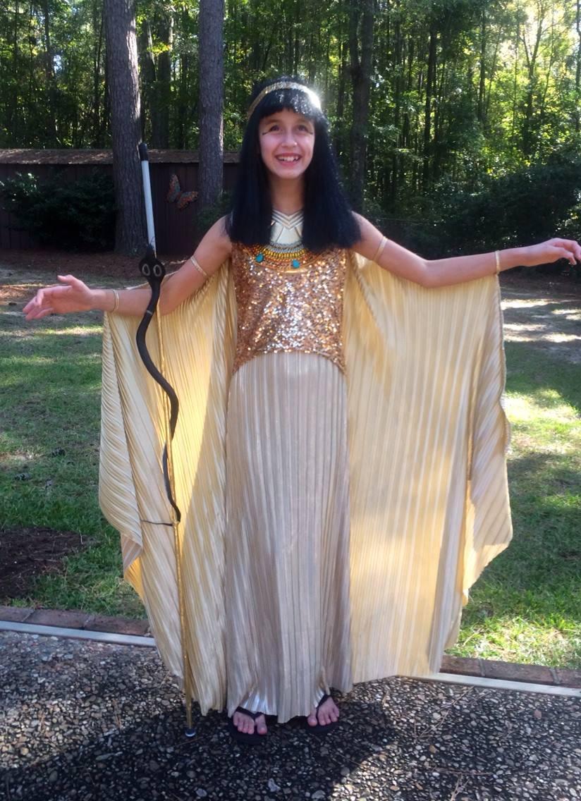 Lindsay as Cleopatra