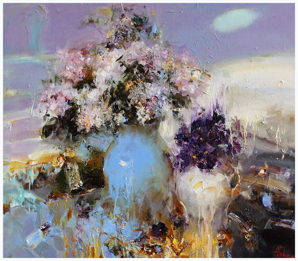 Lilacs and Violets