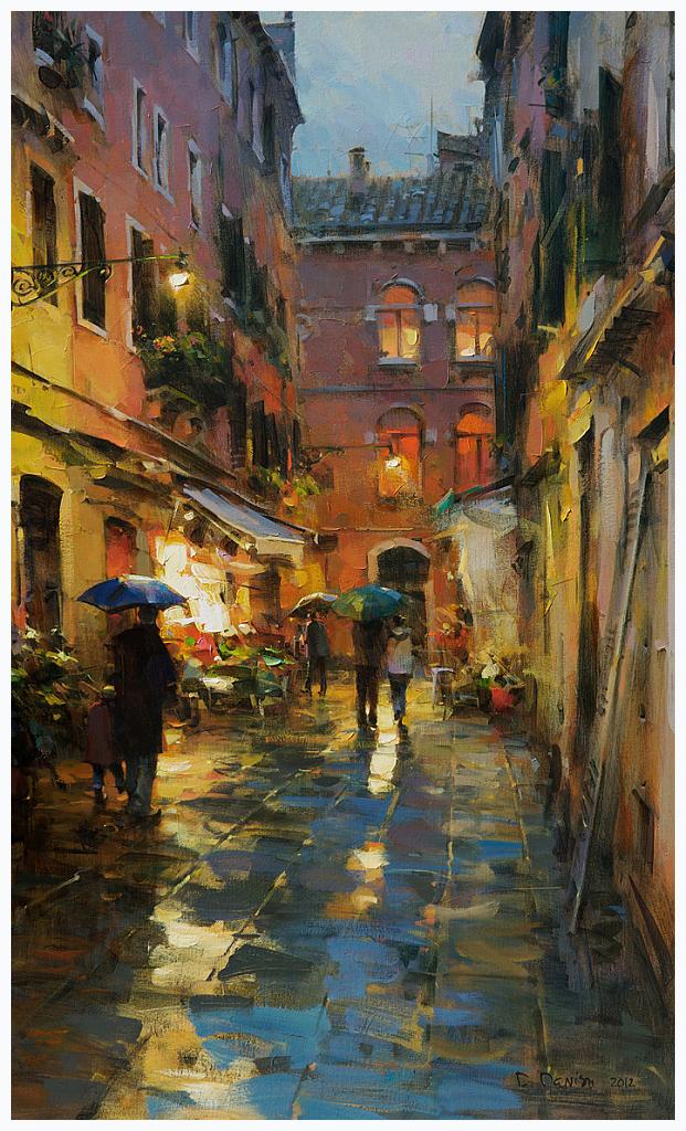 Rainy Venice