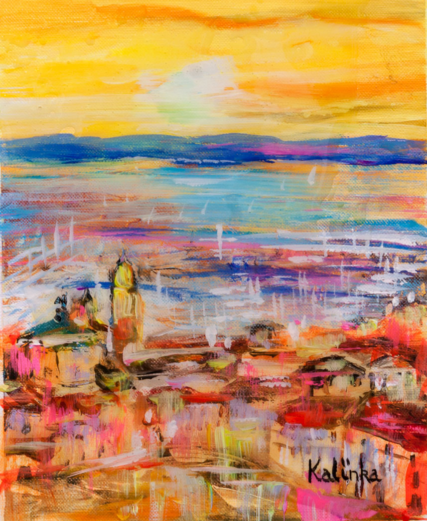 Soir a Saint-Tropez