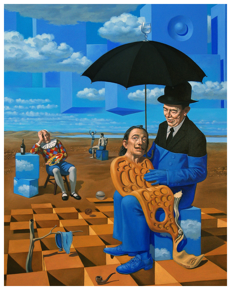 Lullaby of Uncle Magritte