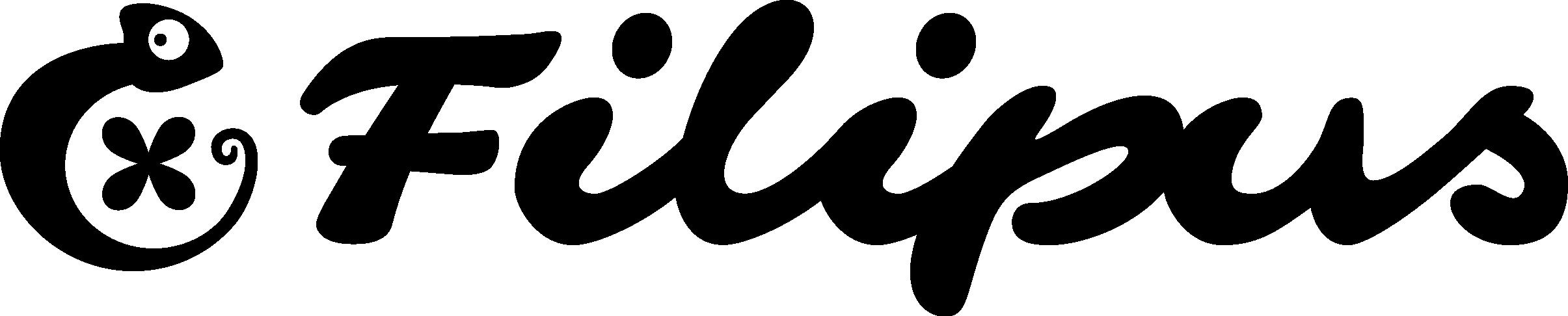 Filipus logo black