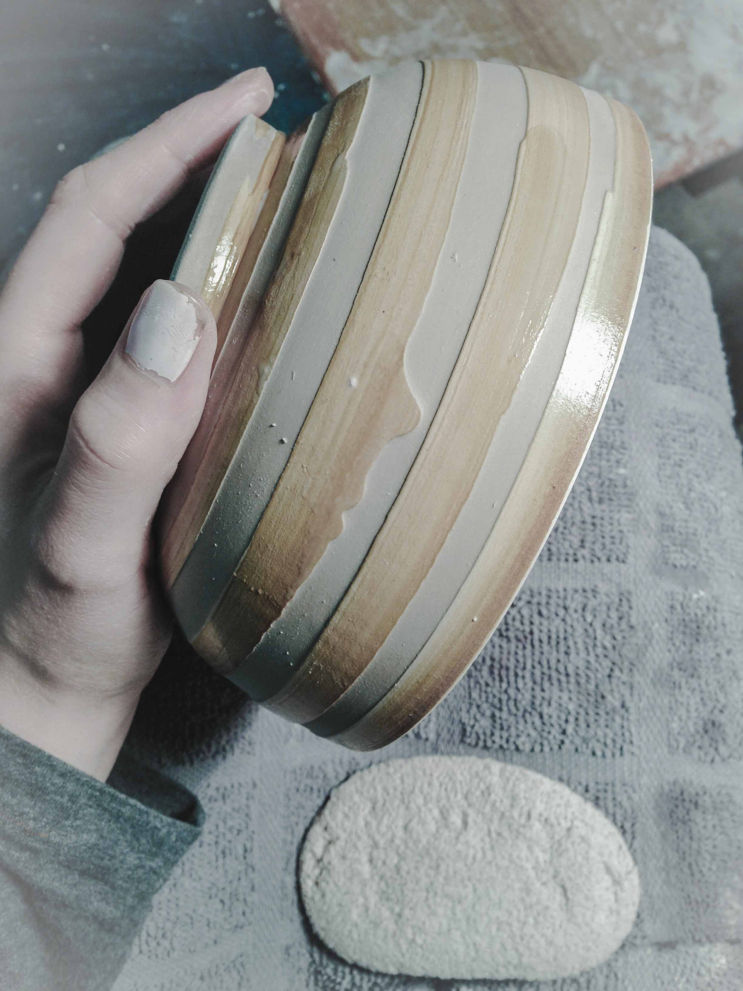 Decorating Pottery
