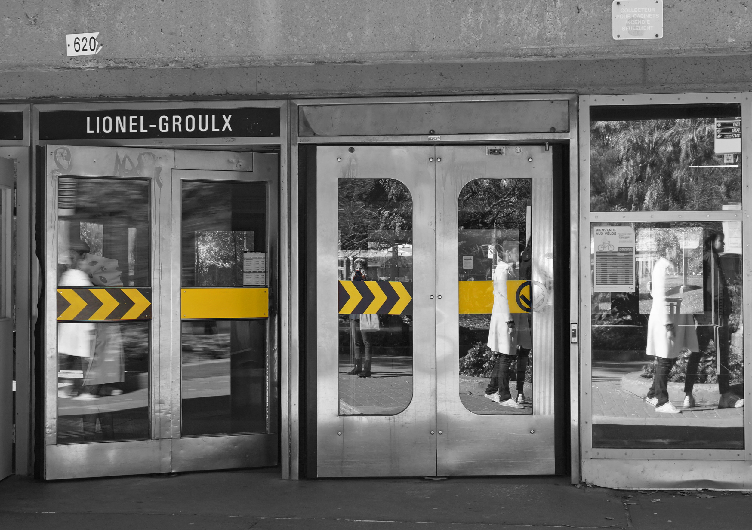 Lionel-Groulx Subway Stop