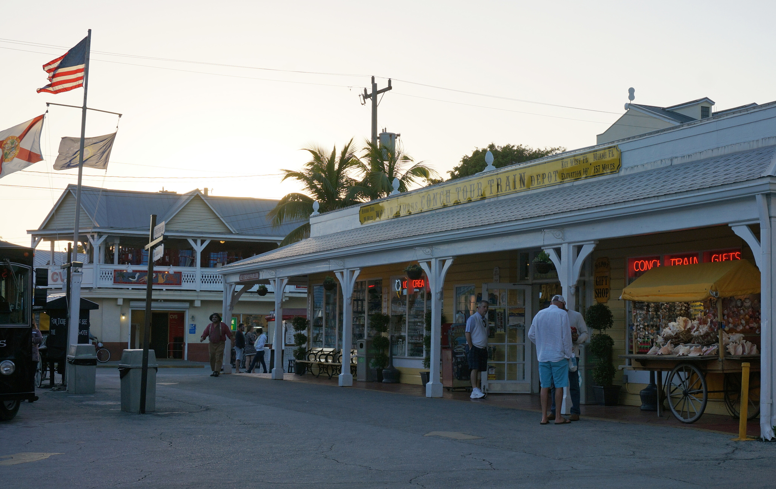 Conch Tour Train Depot