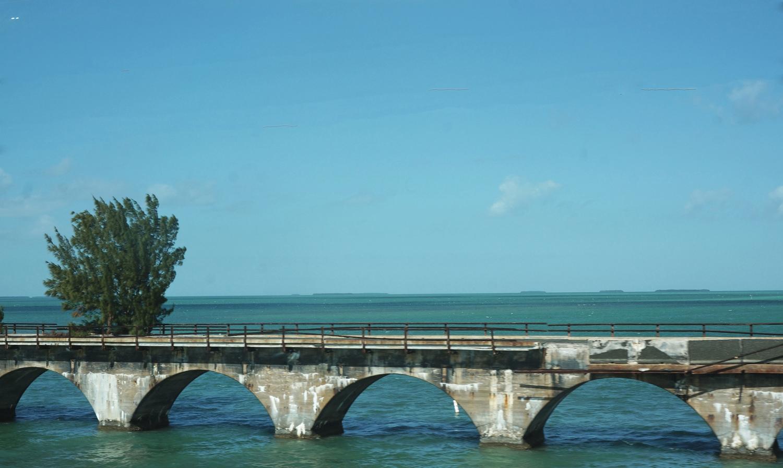Old Seven Mile Train Bridge