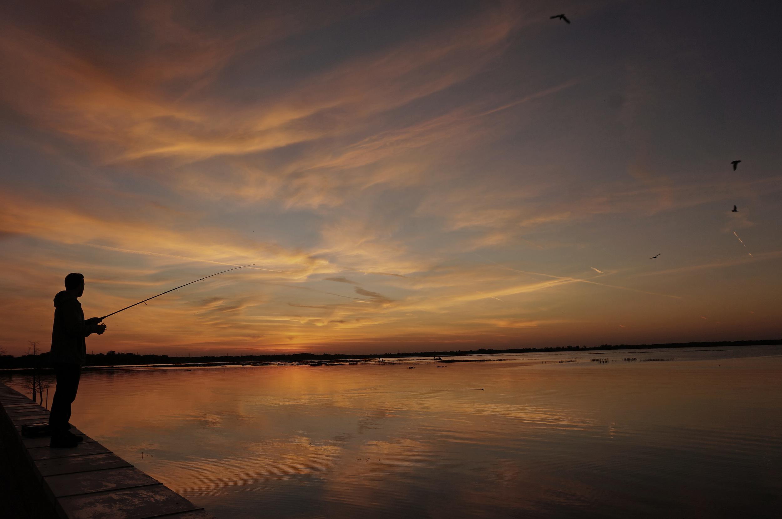 Sunrise over Lake Toho, Kissimmee Florida
