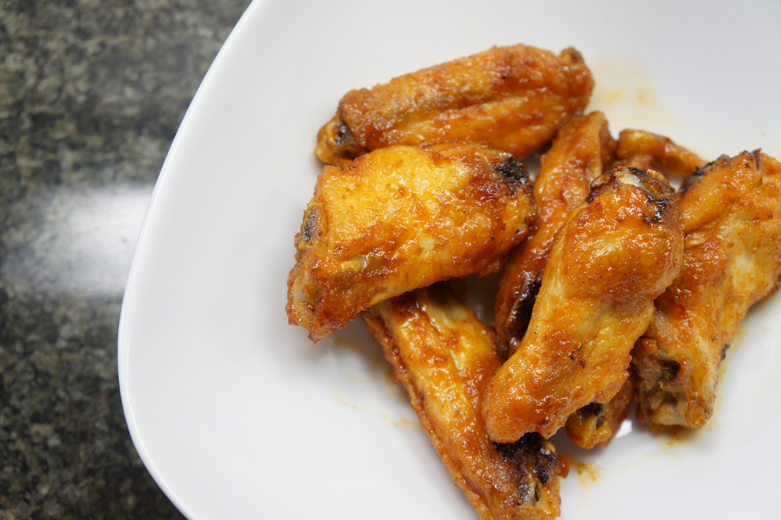 Oven Baked Honey Sriracha Wings