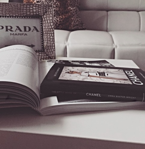 A coffee table or a trunk makes the perfect space to add a stack of books or even magazines. It instantly pops, shows your personal interests, and give guests some reading material.